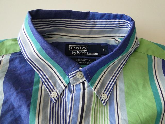 ralph lauren ellington herren hemd langarm gr n blau. Black Bedroom Furniture Sets. Home Design Ideas