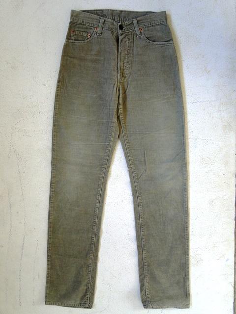 levis 551 damen jeans hose beige unifarben w28 top ebay. Black Bedroom Furniture Sets. Home Design Ideas