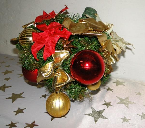 Weihnachtsblume Adventsgesteck Weihnachtsgesteck Pflanze