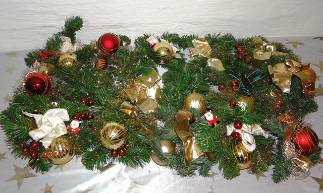 16x Weihnachtsgesteck Adventsgesteck Tisch Wand Gesteck