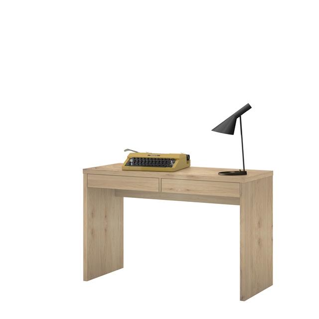 elegance schreibtisch schubk sten b rotisch pc computer tisch braun eiche neu ebay. Black Bedroom Furniture Sets. Home Design Ideas