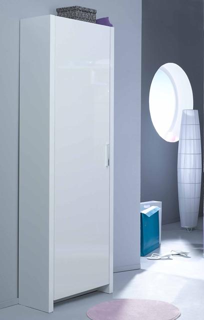 elegance garderobenschrank t r kommode sideboard schrank wei hochglanz neu. Black Bedroom Furniture Sets. Home Design Ideas