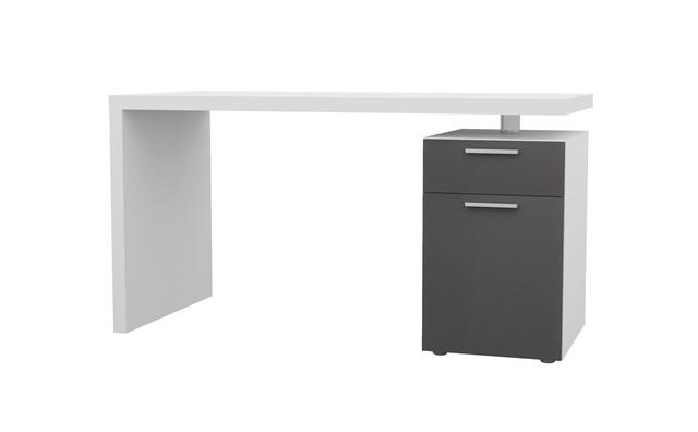 elegance schreibtisch unterschrank b rotisch pc computer tisch wei hochglanz ebay. Black Bedroom Furniture Sets. Home Design Ideas