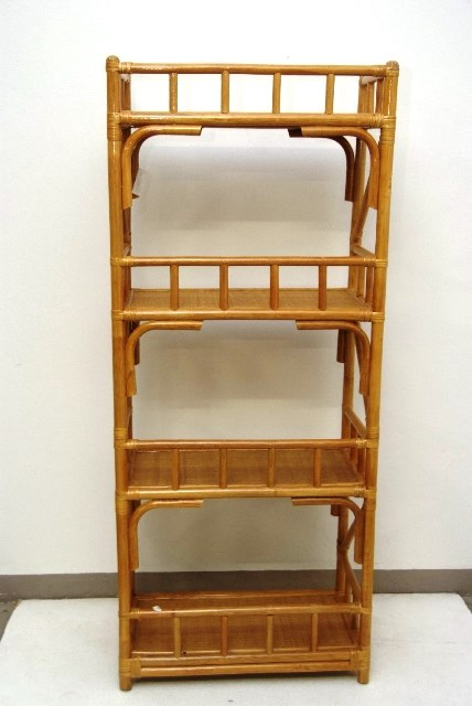 rattan schrank regal wandregal korbregal kommode braun ma16 ebay. Black Bedroom Furniture Sets. Home Design Ideas