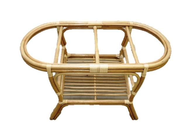 rattan tisch couchtisch gartentisch esstisch oval braun ebay
