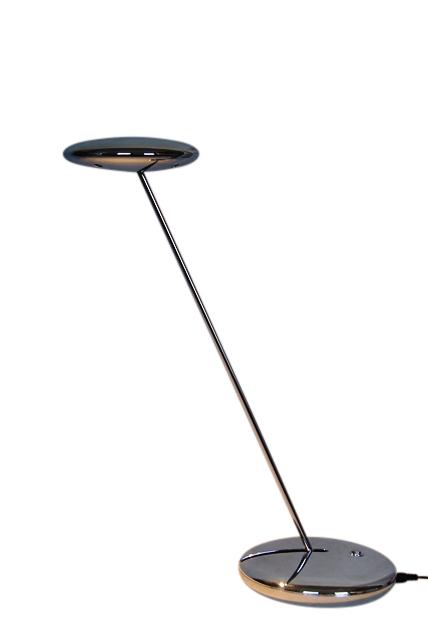 sompex led ufo tischlampe tischleuchte lampe edelstahl. Black Bedroom Furniture Sets. Home Design Ideas