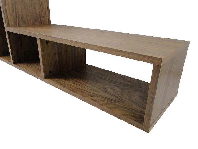 temahome domino regal b cherregal raumteiler holz braun nussbaum neu neustadt. Black Bedroom Furniture Sets. Home Design Ideas