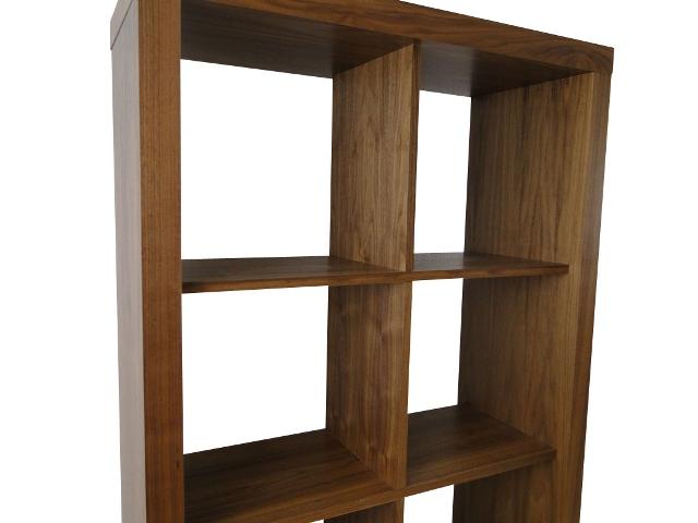 temahome rolly 2x4 regal rollregal rollenregal raumteiler holz nussbaum neustadt. Black Bedroom Furniture Sets. Home Design Ideas