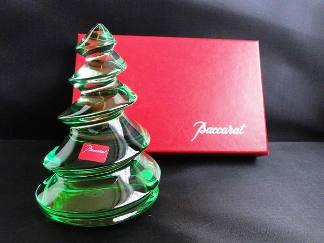 original baccarat tannenbaum weihnachtsbaum kristallglas. Black Bedroom Furniture Sets. Home Design Ideas